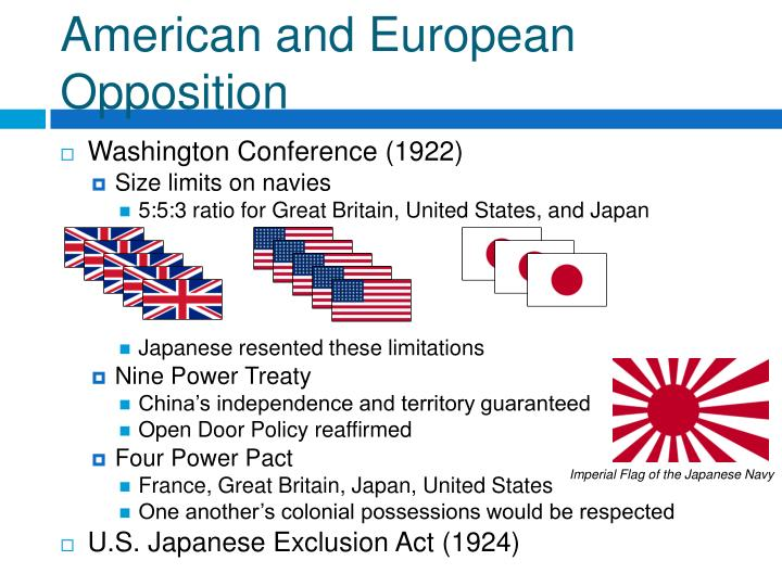 American and European Opposition