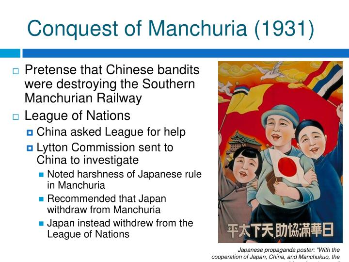 Conquest of Manchuria (1931)