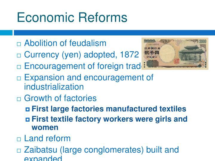 Economic Reforms