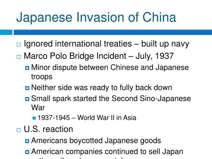Japanese Invasion of China