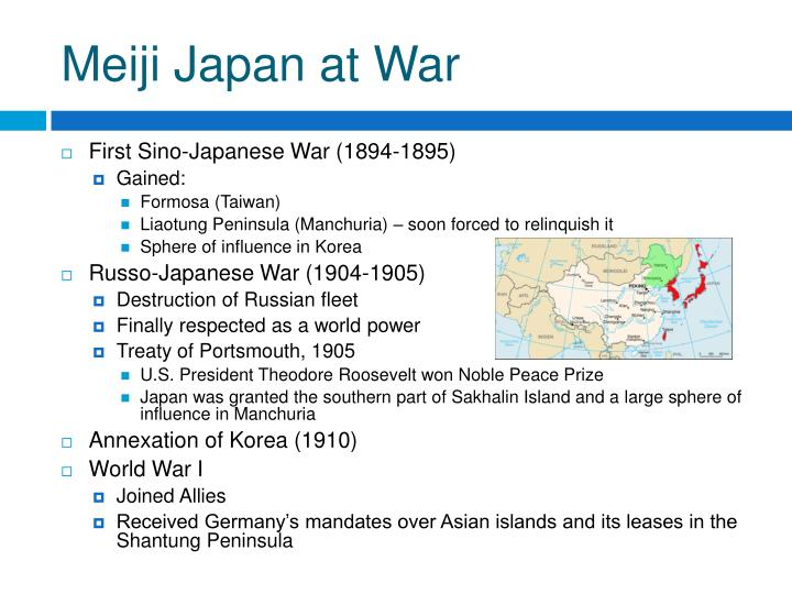 Meiji Japan at War
