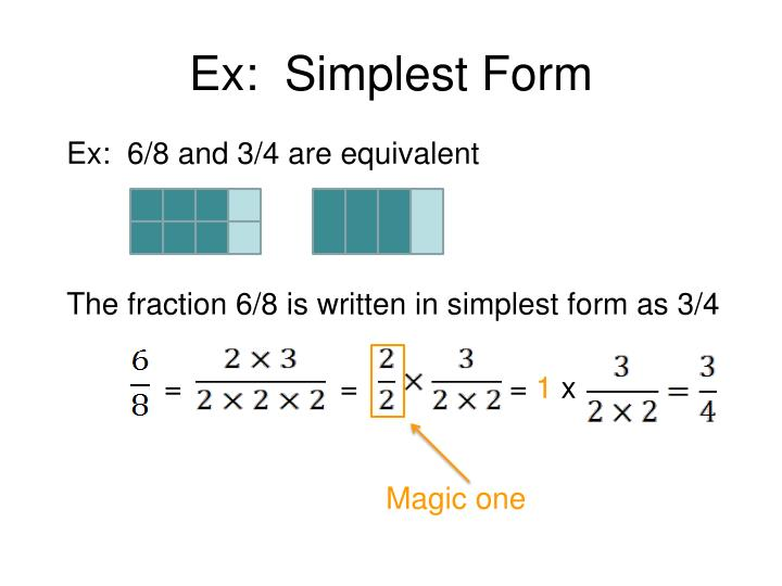 simplest form 6/8  10 10 in simplest form