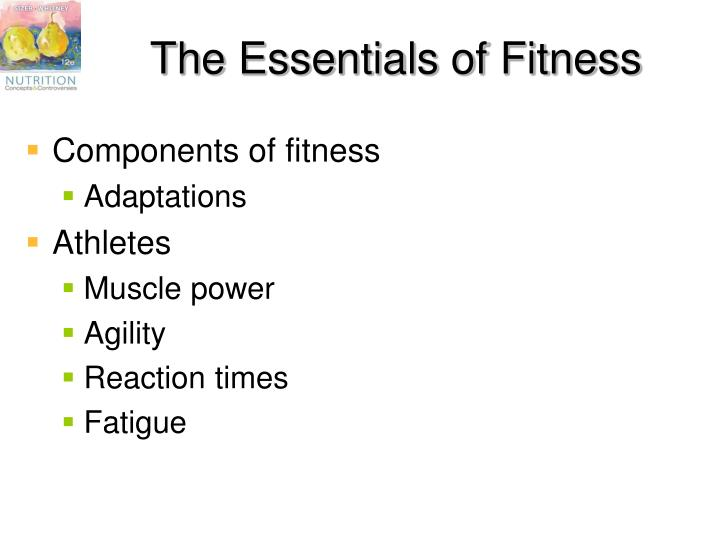 The Essentials of Fitness