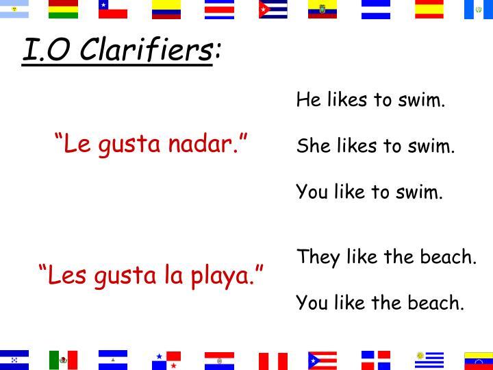I.O Clarifiers
