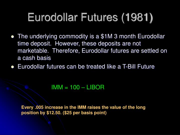eurodollar futures Today's eurodollar futures prices, gez18 eurodollar futures, eurodollar commodities, charts and quotes.