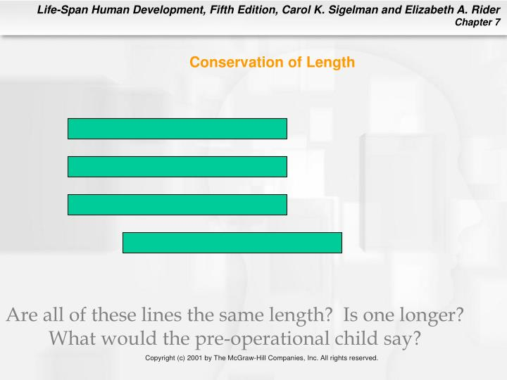 Conservation of Length