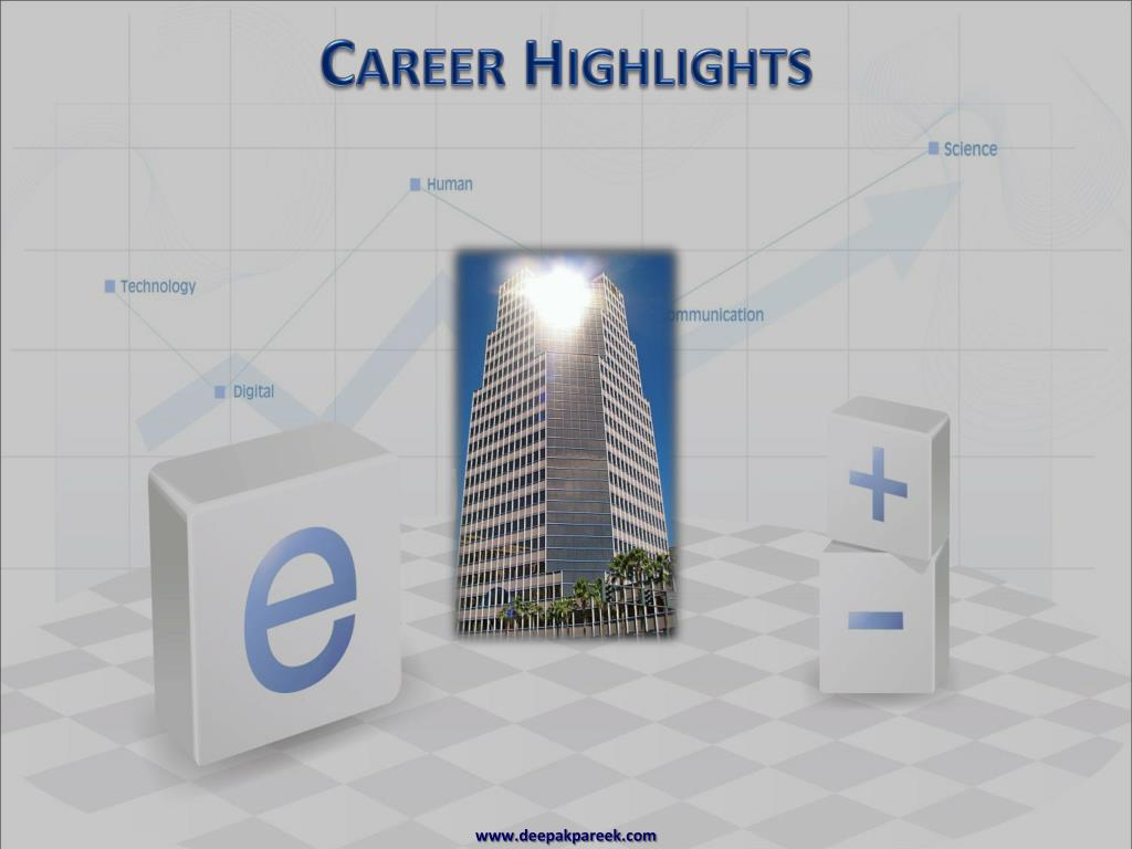 Career Highlights