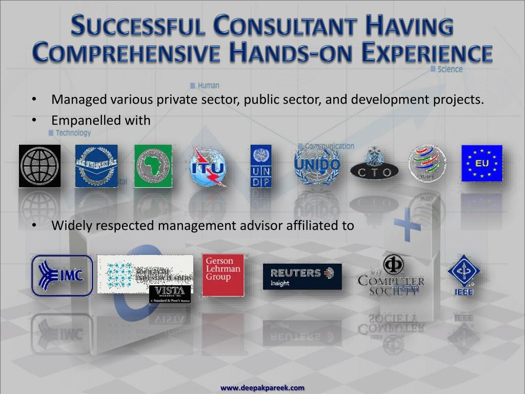 Successful Consultant Having Comprehensive Hands-on Experience