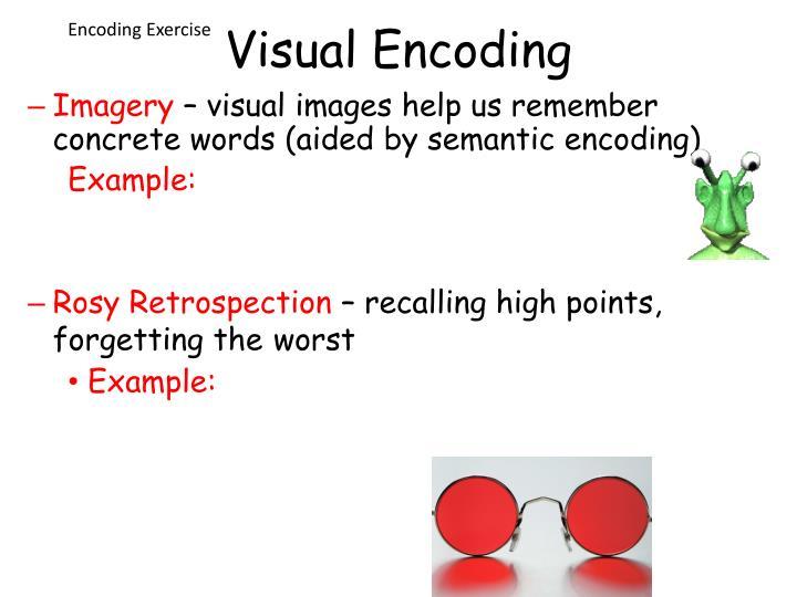 Encoding Exercise