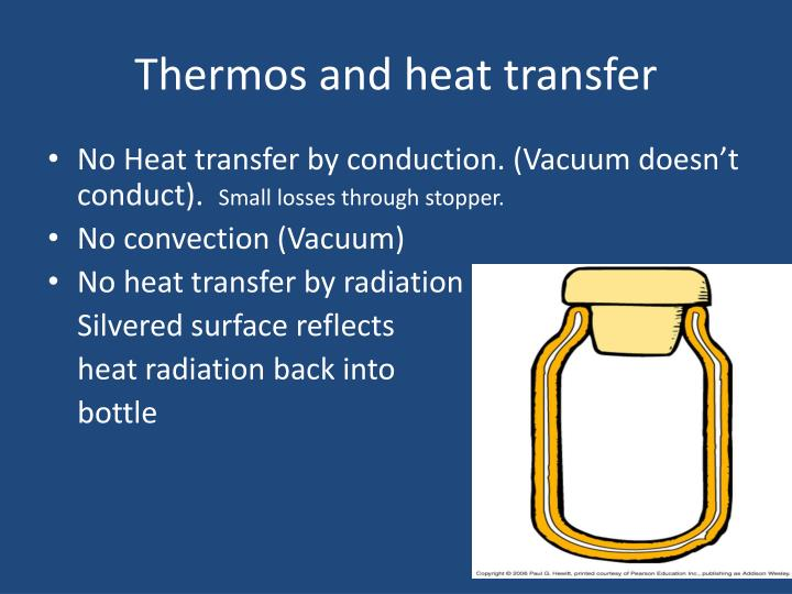 Thermos and heat transfer