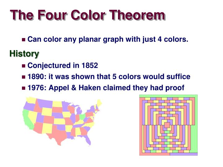 The Four Color Theorem