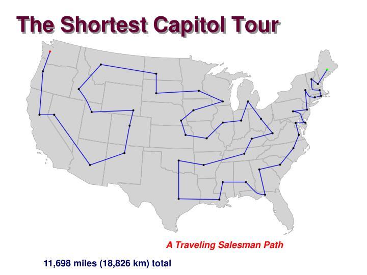 The Shortest Capitol Tour