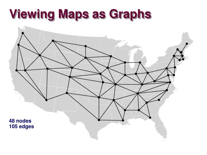 Viewing Maps as Graphs