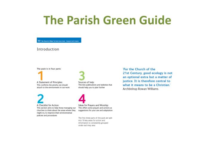 The Parish Green Guide