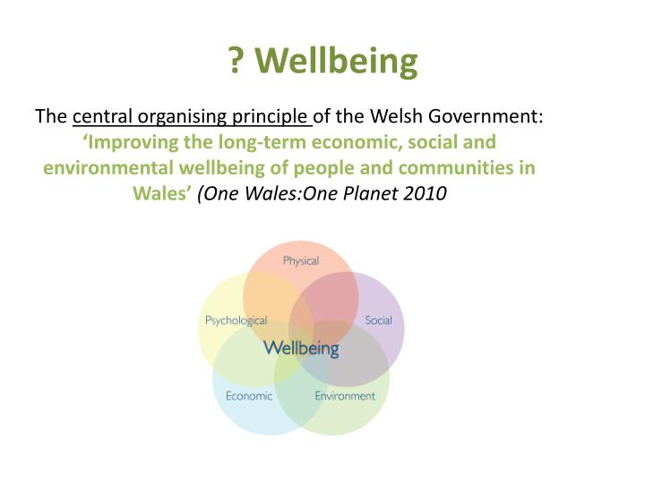 ? Wellbeing