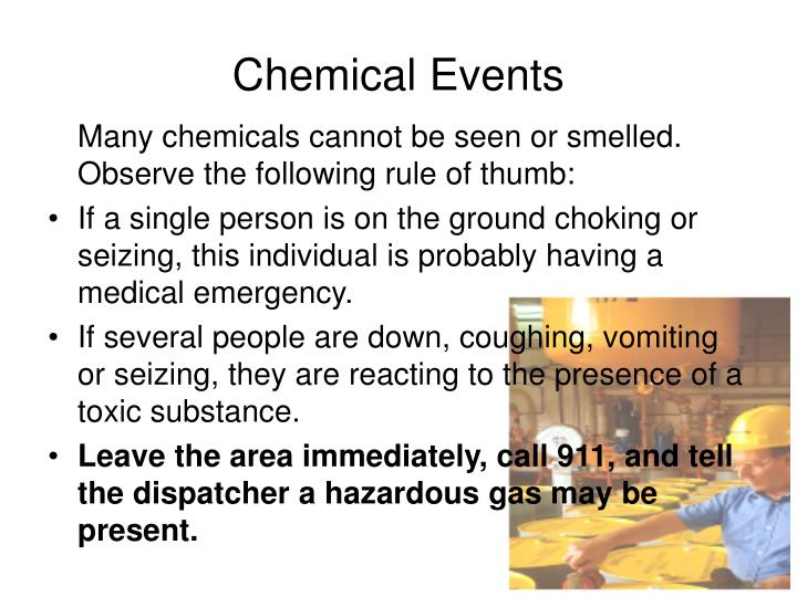 Chemical Events