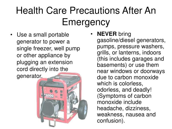 Use a small portable generator to power a single freezer, well pump or other appliance by plugging an extension cord directly into the generator.