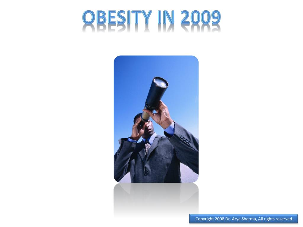 Obesity in 2009