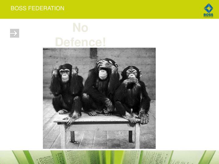 No Defence!