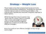 strategy weight loss