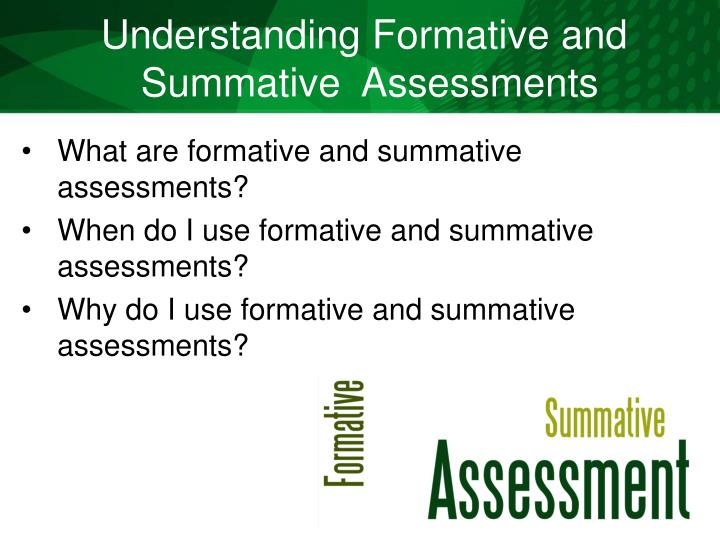 Understanding Formative and