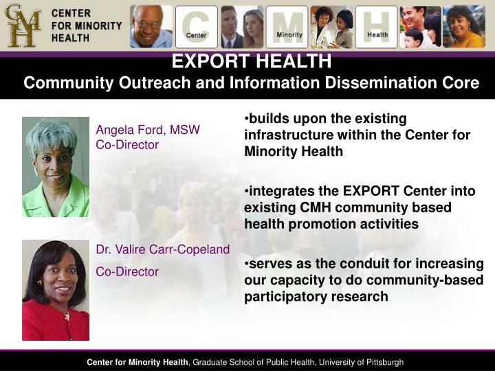 EXPORT HEALTH