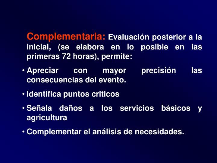 Complementaria: