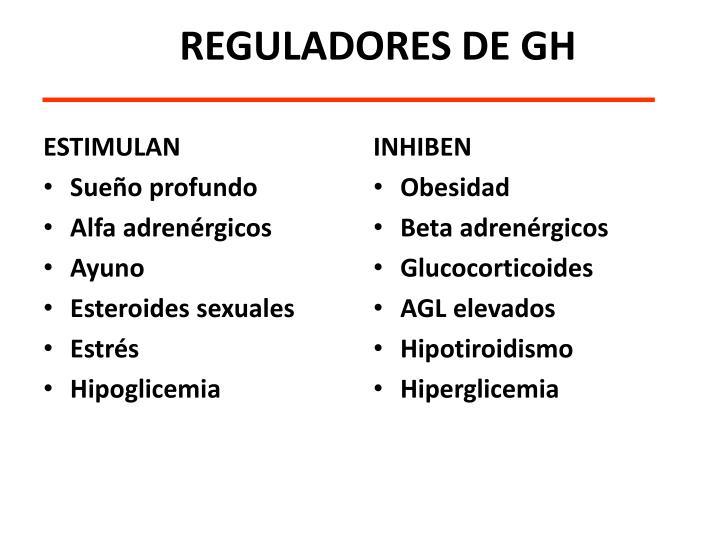 REGULADORES DE GH