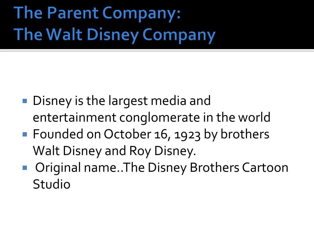 The Parent Company: