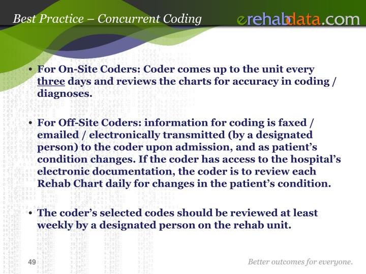 Best Practice – Concurrent Coding