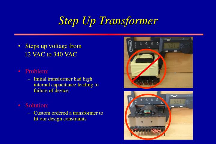 Step Up Transformer