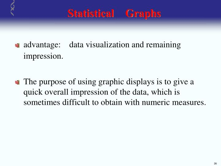 Statistical    Graphs
