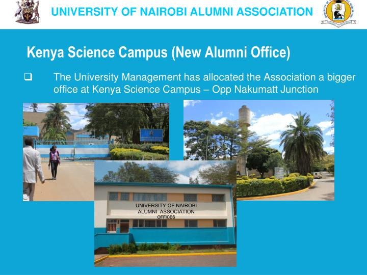 Kenya Science Campus (New Alumni Office)