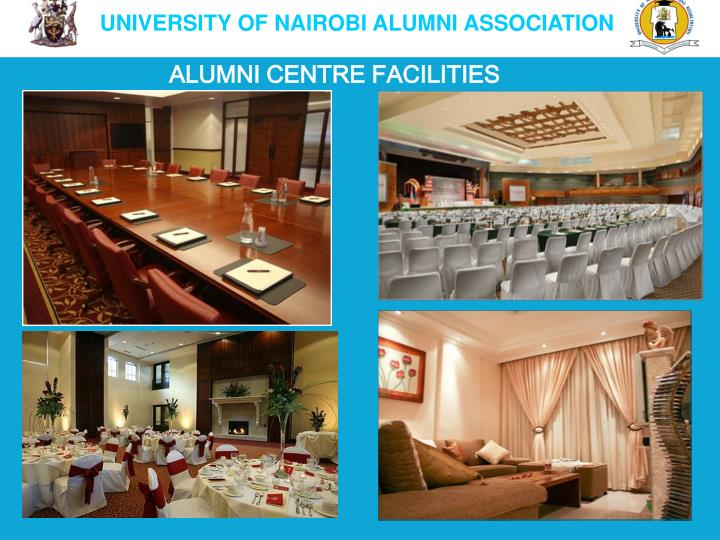 ALUMNI CENTRE FACILITIES