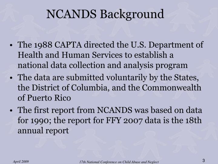 NCANDS Background