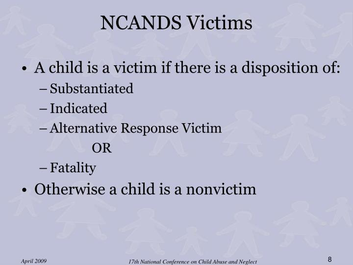 NCANDS Victims