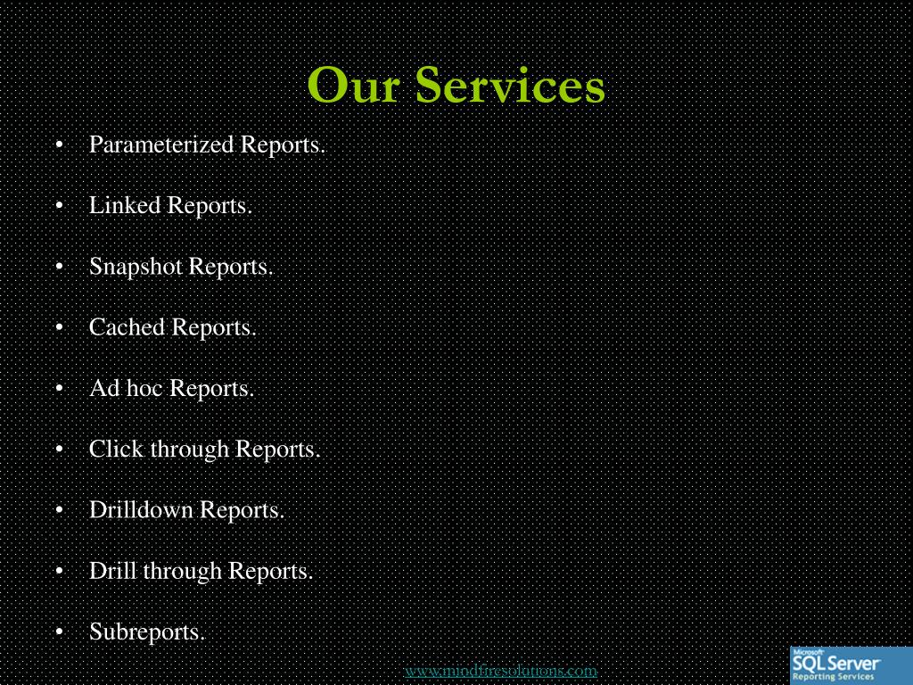 Our Services