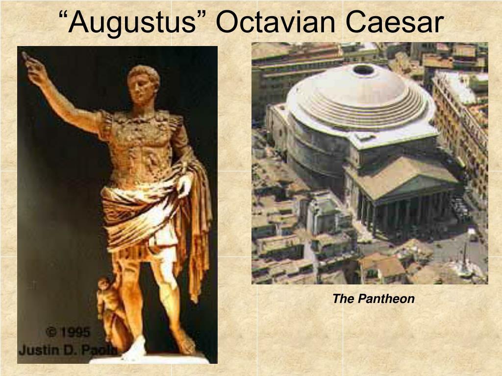 """""""Augustus"""" Octavian Caesar"""