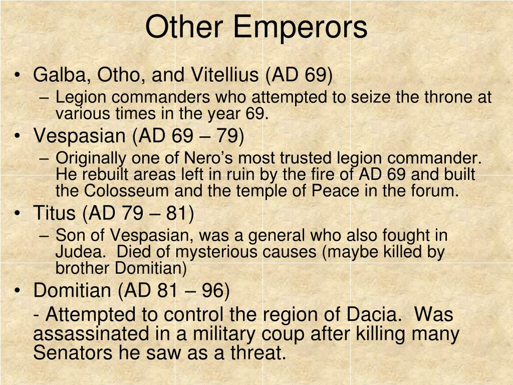 Other Emperors