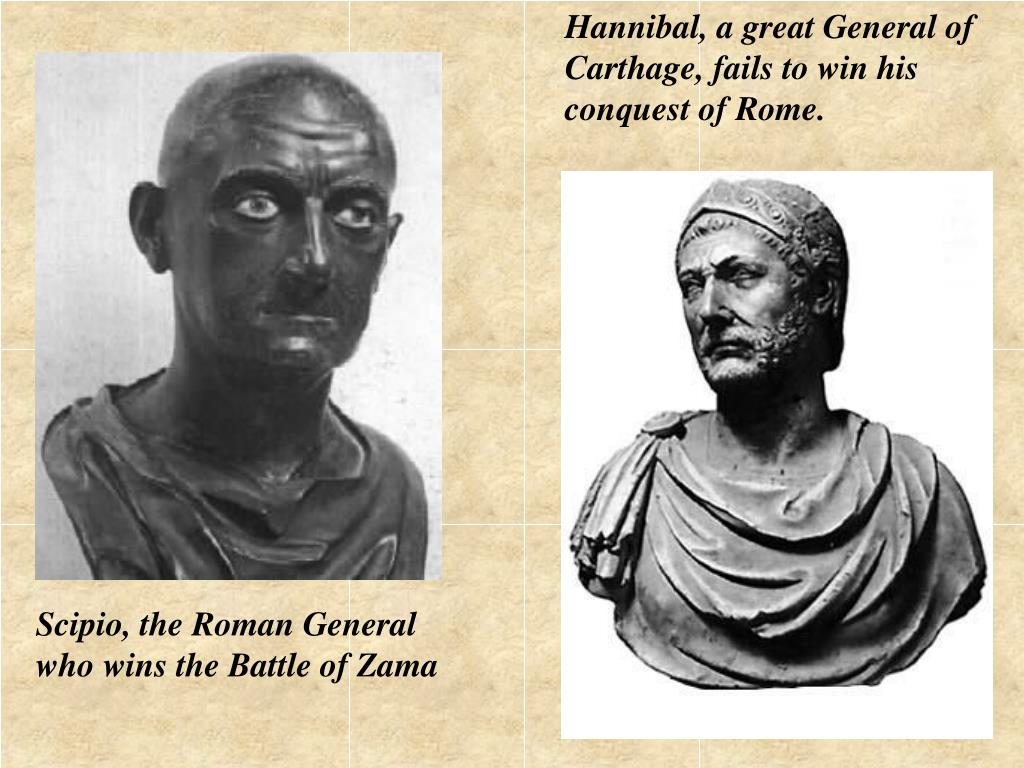Hannibal, a great General of
