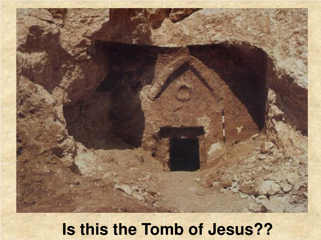 Is this the Tomb of Jesus??
