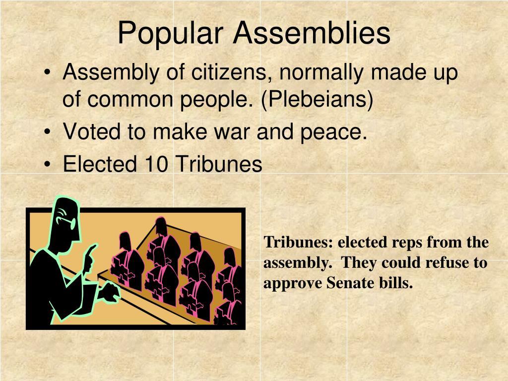 Popular Assemblies