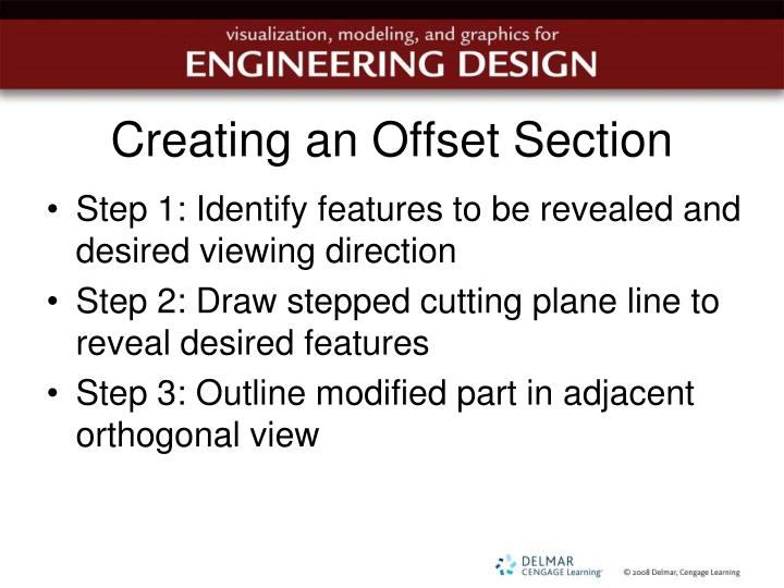 Creating an Offset Section
