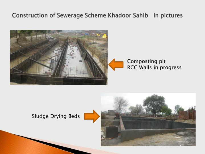 Construction of Sewerage Scheme