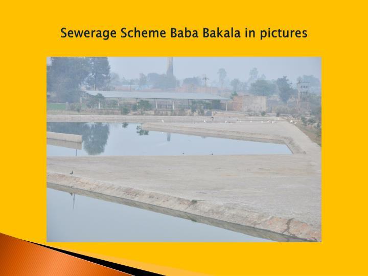 Sewerage Scheme Baba