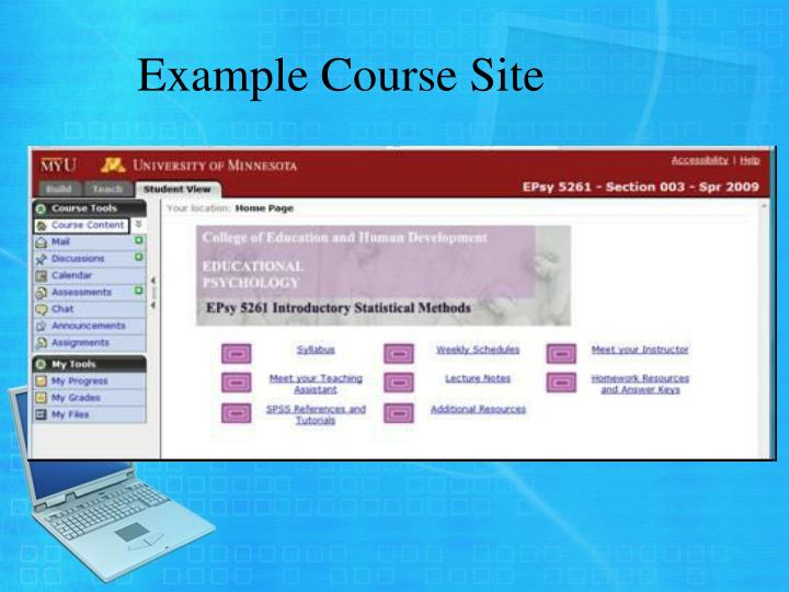 Example Course Site