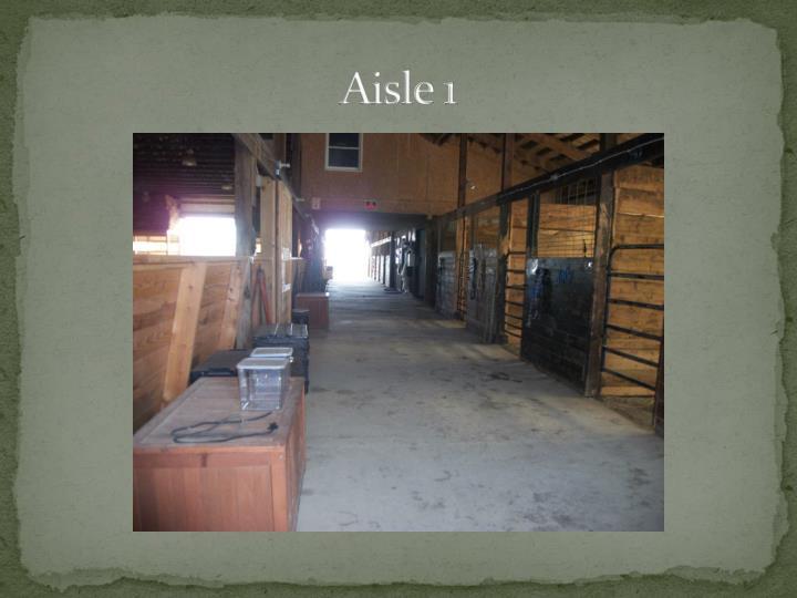 Aisle 1
