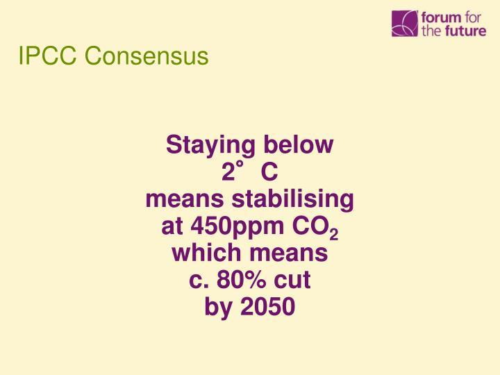 IPCC Consensus
