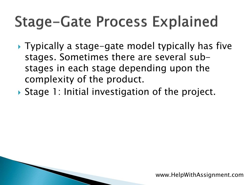 Stage-Gate Process Explained