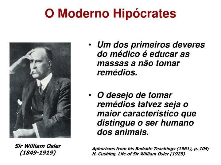 O Moderno Hipócrates